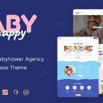Download Free Happy Baby v1.2 - Nanny & Babysitting Services WordPress Theme