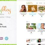 Download Free Healthy Living v1.2 - Blog with Online Store WordPress Theme