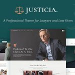 Download Free Justicia v1.1.1 - Lawyer and Law Firm Theme