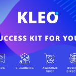 Download Free KLEO v4.4.8 – Next level WordPress Theme