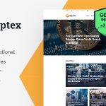 Download Free Kryptex v1.2.3 - Cryptocurrency & Mining WordPress Theme