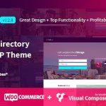 Download Free Lisner v1.2.8 - Modern Directory Listing WordPress Theme