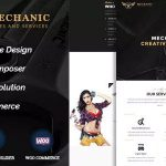 Download Free Mechanic v1.0.1 - Car Service & Workshop WordPress Theme