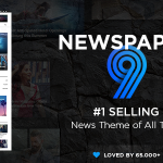 Download Free Newspaper v9.6 - WordPress News Theme
