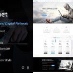 Download Free Noanet v2.0 - Internet Provider And Digital Network