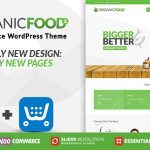 Download Free Organic Food v1.2 - Farm & Food Business Eco WordPress Theme