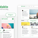Download Free Readable v2.3.1 - Blogging Theme Focused on Readability