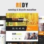 Download Free Redy v1.0.3 - Marathon & Sports WordPress Theme