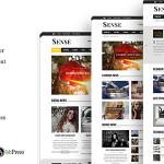 Download Free Sense v5.0 - Responsive Blog Magazine & News Theme