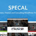 Download Free Specal v1.5 – Financial, Consulting WordPress Theme