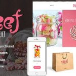 Download Free Sweet Dessert v1.1.1 - Sweet Shop & Cafe WordPress Theme