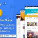 Download Free Traveler v2.5 - Travel Booking WordPress Theme