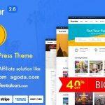 Download Free Traveler v2.6 - Travel Booking WordPress Theme