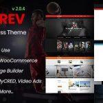 Download Free VidoRev v2.0.4 - Video WordPress Theme