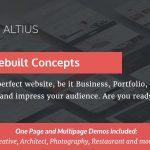 Download Free Altius v1.1 - Multi-Purpose WordPress Theme