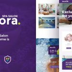 Download Free Aurora v1.0 - Spa & Beauty Salon WordPress Theme