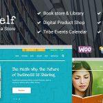 Download Free Bookshelf v1.9.1 - Books & Media Online Store Theme