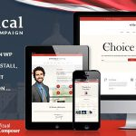 Download Free Candidate v1.8 - Political / Non-profit WordPress Theme