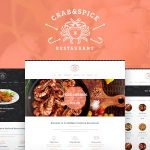 Download Free Crab & Spice v1.3.1 - Restaurant and Cafe Theme