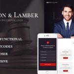 Download Free Dixon & Lamber v1.1 - Law Firm WordPress Theme