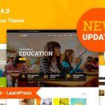 Download Free Education WP v4.0.2 - Education WordPress Theme