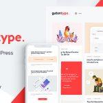 Download Free Gutentype v1.8.0 - 100% Gutenberg WordPress Theme