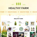 Download Free Healthy Farm v2.3 - Food & Agriculture WordPress Theme