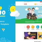 Download Free Juno v1.5 - Kids Toys & Games Store WordPress Theme