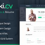 Download Free Meraki v1.3 - One Page Resume WordPress Theme