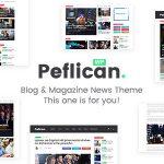 Download Free Peflican v2.0.0 - A Newspaper and Magazine WordPress Theme