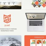 Download Free Pixel v1.2 - A Modern Multi-Purpose WordPress Theme