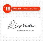 Download Free Rima v1.7.5 - Personal Blog WordPress Theme
