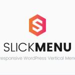 Download Free Slick Menu v1.1.4 - Responsive WordPress Vertical Menu