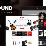 Download Free Sound v1.5 - Musical Instruments Online Store Theme