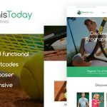 Download Free Tennis Today v1.2 - Sport School & Events WordPress Theme