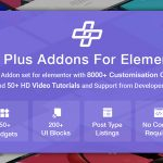 Download Free The Plus v1.4.3 - Addon for Elementor
