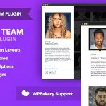 Download Free The Team Pro v1.3.1 - Team Showcase WordPress Plugin