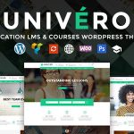 Download Free Univero v1.2 - Education LMS & Courses WordPress Theme