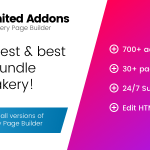 Download Free Unlimited Addons for WPBakery Page Builder v1.0.40