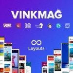Download Free Vinkmag v1.7 - Multi-concept Creative Newspaper