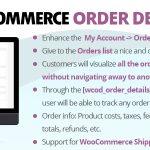 Download Free WooCommerce Order Details v1.8