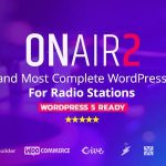 Download Free Onair2 v3.3.8 - Radio Station WordPress Theme
