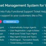 Download Free Support Ticket Management System for WordPress v1.1