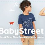 Download Free BabyStreet v1.2.2 – WooCommerce Theme for Kids Stores and Baby Shops Clothes and Toys