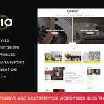 Download Free Paperio v1.7 - Responsive and Multipurpose Blog Theme