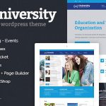 Download Free University v2.1.3.9 - Education, Event and Course Theme